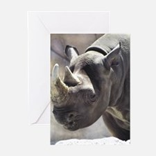 Quiet Rhino Greeting Cards (Pk of 10)