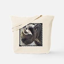 Quiet Rhino Tote Bag