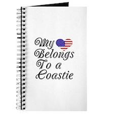 My Heart Belongs To A Coastie Journal