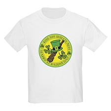 Kiss My Shillelagh Kids T-Shirt