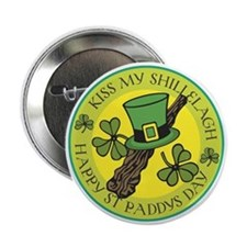 Kiss My Shillelagh Button