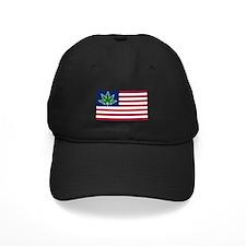 US Pot Flag Baseball Hat