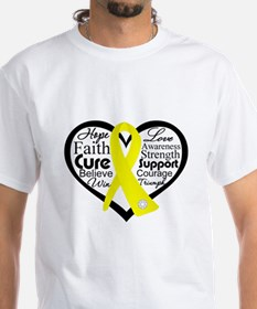 Sarcoma Cancer Heart Shirt