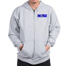 Starship Enterprise Zipped Hoody