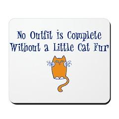 A little Cat Fur Mousepad