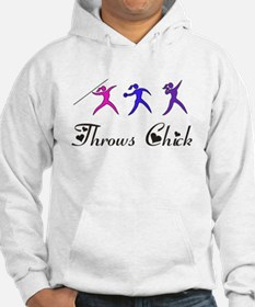 Throws Chick Hoodie