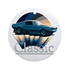 Ford mustang Ornament (Round)