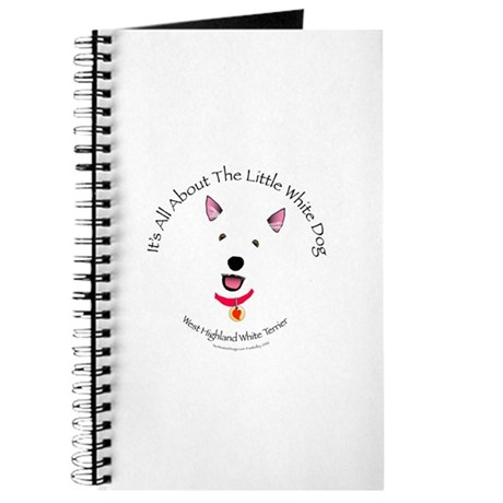 All About The Little White Dog Journal