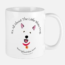 All About The Little White Dog Mug