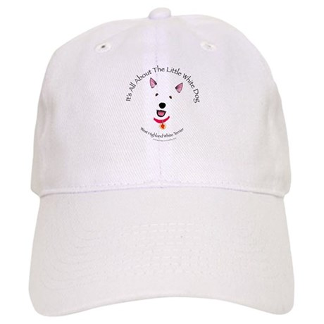 All About The Little White Dog Cap