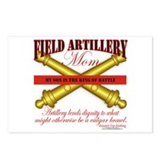 Army Field Artillery Mom FA Postcards (Package of