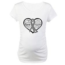 Brain Cancer Heart Shirt