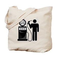 High Gas Fuel Oil Prices Tote Bag