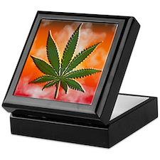 Pot Leaf Keepsake Box 1