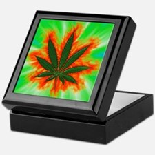 Pot Leaf Keepsake Box 6