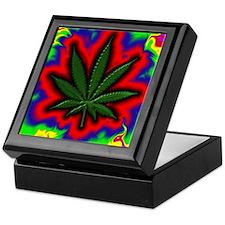 Pot Leaf Keepsake Box 7