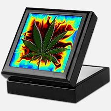 Pot Leaf Keepsake Box 9