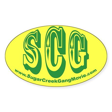 SCG Oval Sticker