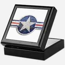 USAF US Air Force Roundel Keepsake Box