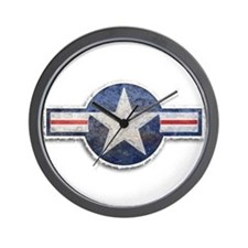 USAF US Air Force Roundel Wall Clock