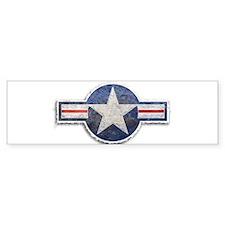 USAF US Air Force Roundel Bumper Sticker