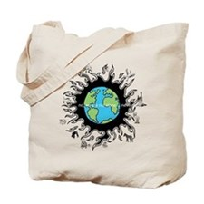 We are not alone... Tote Bag