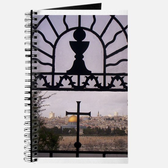Cute Jerusalem cross Journal
