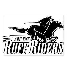 Abilene Ruff Riders Postcards (Package of 8)
