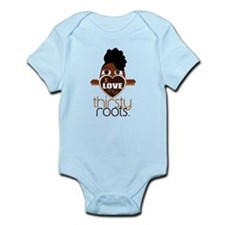 Natural Funky Updo Infant Bodysuit