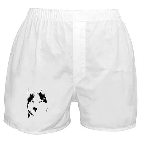 Siberian Husky Underwear Sled Dog Boxer Shorts