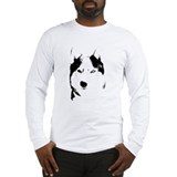 Siberian husky Long Sleeve T-shirts