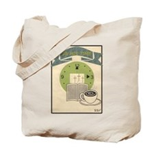 """""""In His Time"""" Tote"""