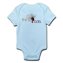 Thirsty Roots Logo Infant Bodysuit