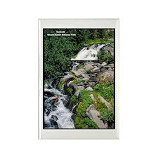 Mount Rainier Cascade Rectangle Magnet (10 pack)