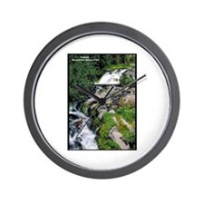 Mount Rainier Cascade Wall Clock