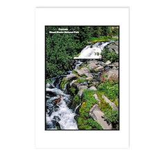 Mount Rainier Cascade Postcards (Package of 8)