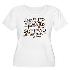 Soprano Attitude Singer T-Shirt