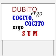 Funny Latin Yard Sign