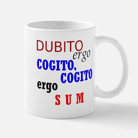 Cute Descartes Mug