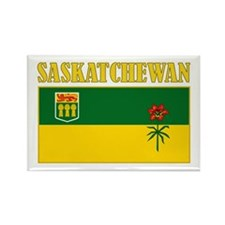 Saskatchewan Rectangle Magnet