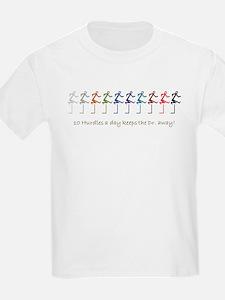 10 hurdles a day T-Shirt