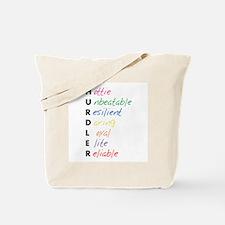 Hurdler acronym Tote Bag