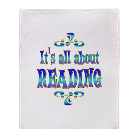 About Reading Throw Blanket
