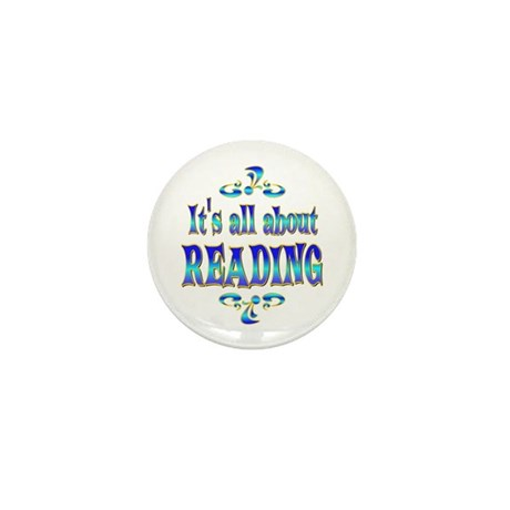 About Reading Mini Button (10 pack)