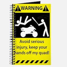 Quad Warning Journal