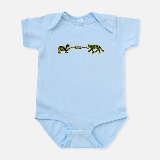 book of kells eire Infant Bodysuit