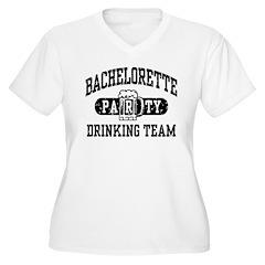 Bachelorette Party Drinking Team T-Shirt