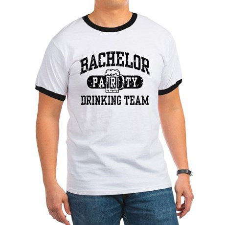 Bachelor Party Drinking Team Ringer T
