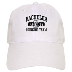 Bachelor Party Drinking Team Baseball Cap