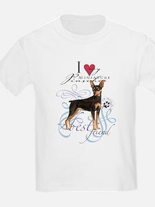 Miniature Pinscher Kids T-Shirt